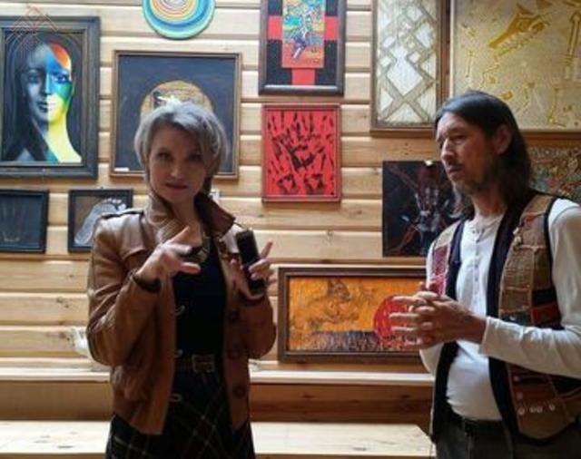Марина Карягина и Георгий Фомиряков